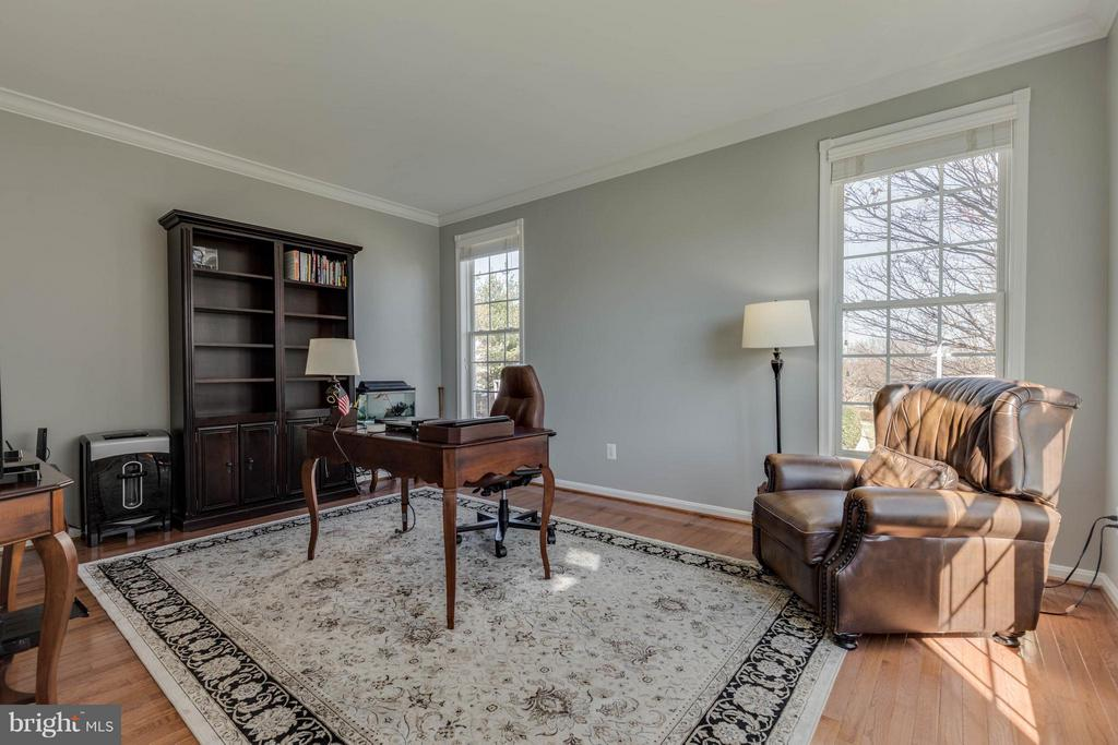 Living Room with door - currently an office - 43008 BATTERY POINT PL, LEESBURG