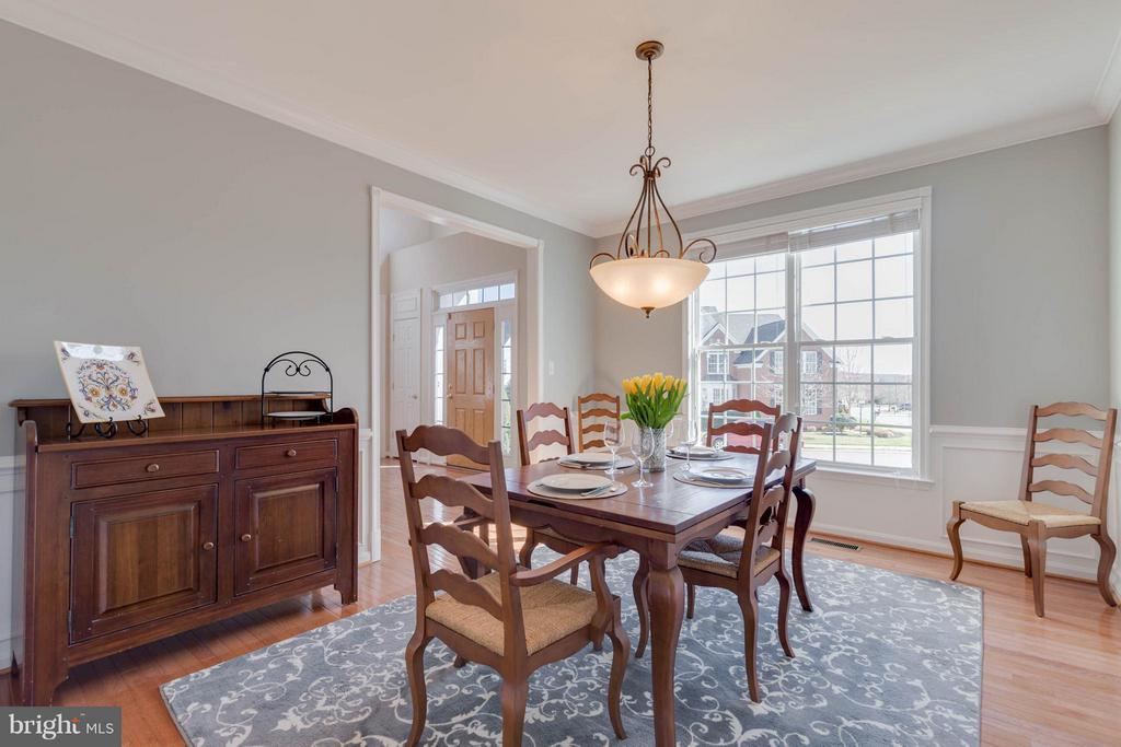 Sun Filled Dining Room - 43008 BATTERY POINT PL, LEESBURG