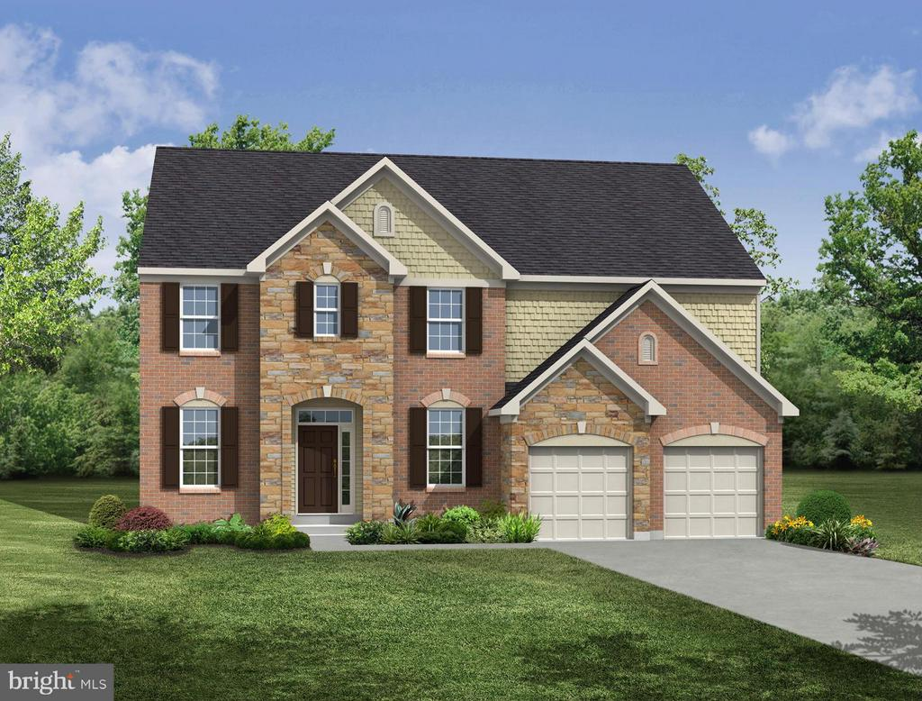 Representation of Buchanan - see brochure for E - 5525 GOLDEN EAGLE RD, FREDERICK