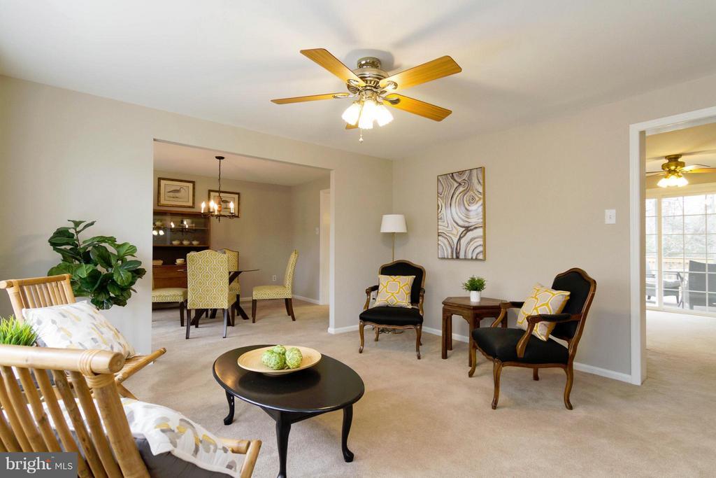 Living Room - 13408 CARRAGEEN DR, MANASSAS