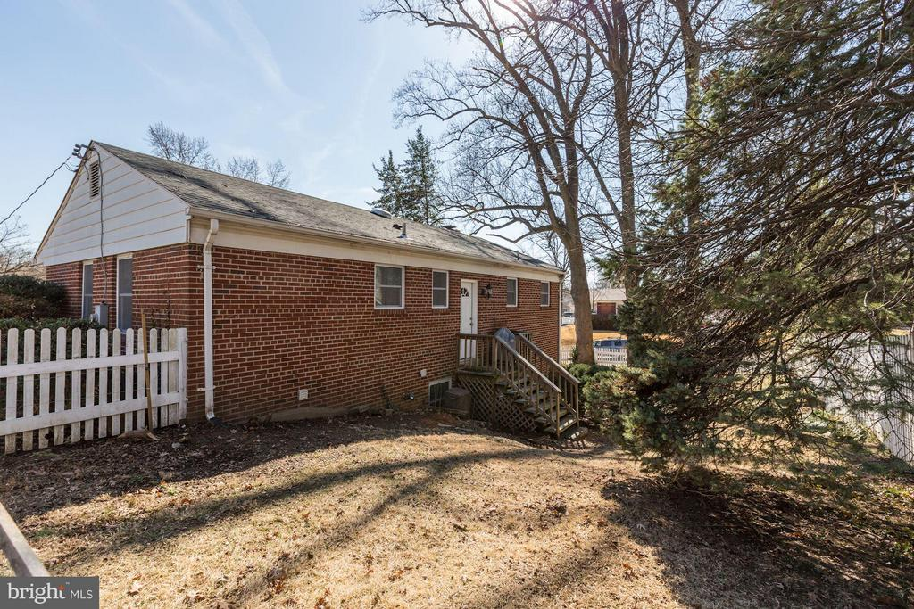Private Rear Yard (2 of 3) - 3707 WOODRIDGE AVE, SILVER SPRING