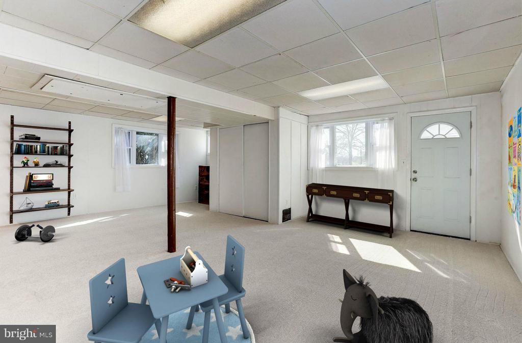 Recreation Room (1 of 3) - 3707 WOODRIDGE AVE, SILVER SPRING
