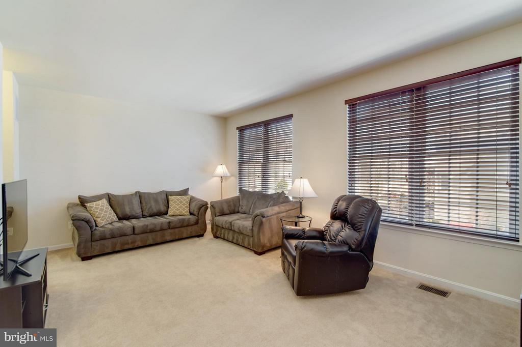 Extremely large living room space! - 9886 SOUNDING SHORE LN, BRISTOW