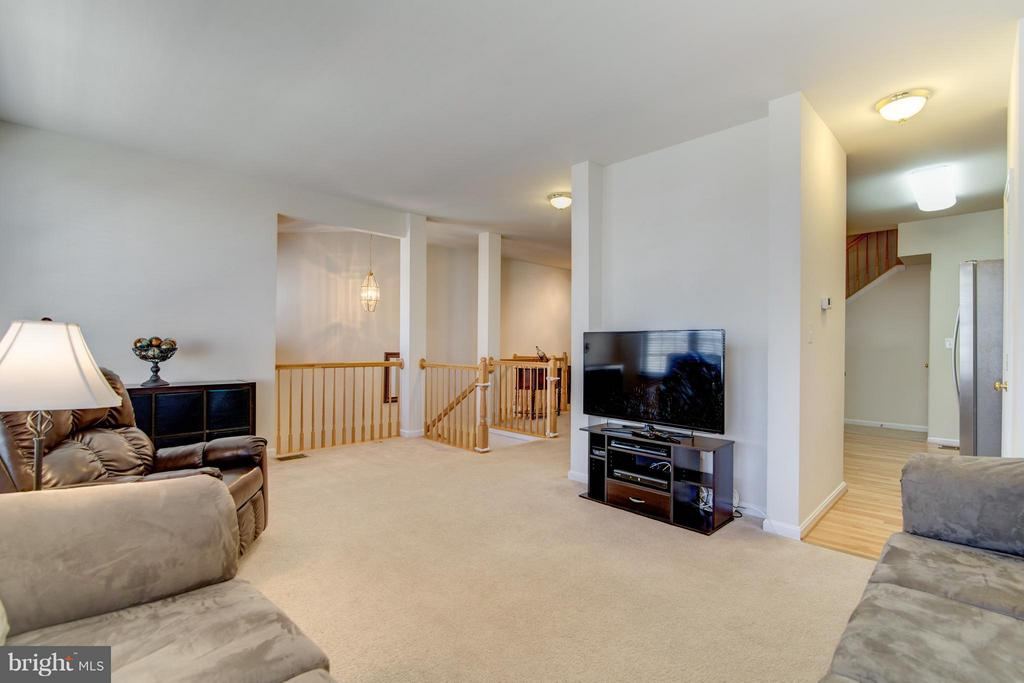 What a fantastic place for an entertainment system - 9886 SOUNDING SHORE LN, BRISTOW