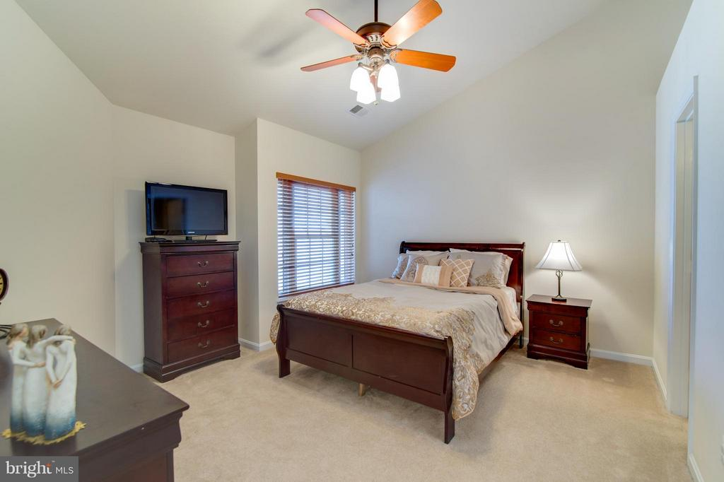 High ceiling, fan, walk in closet and own bathroom - 9886 SOUNDING SHORE LN, BRISTOW