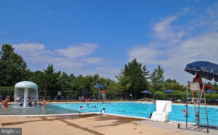 Large outdoor pool - 545 RICHMOND SQ NE, LEESBURG