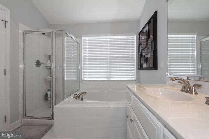 Master bathroom with soaking tub - 43607 RYDER CUP SQ, ASHBURN