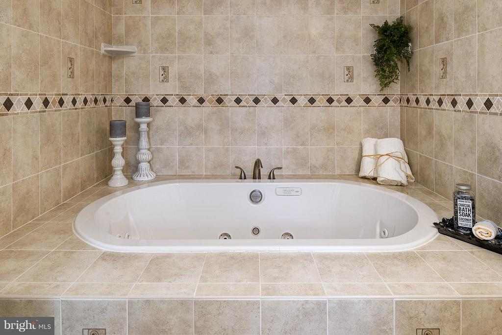 Luxurious 2 person jacuzzi tub - 12931 POINT PLEASANT DR, FAIRFAX