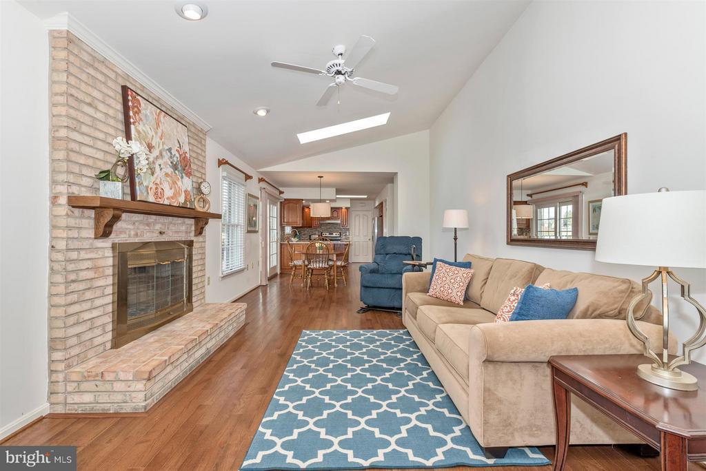 New hardwood flooring - 8210 FOX HUNT LN, FREDERICK