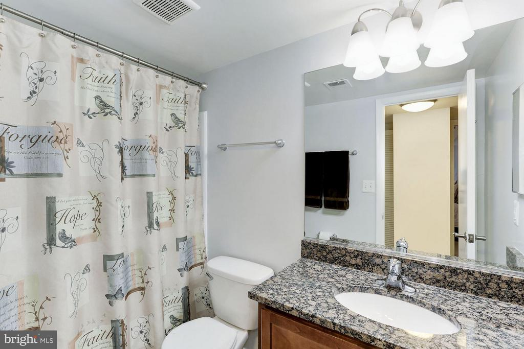 MASTER BATHROOM - GRANITE and CHERRY CABINETRY! - 1001 VERMONT ST N #508, ARLINGTON