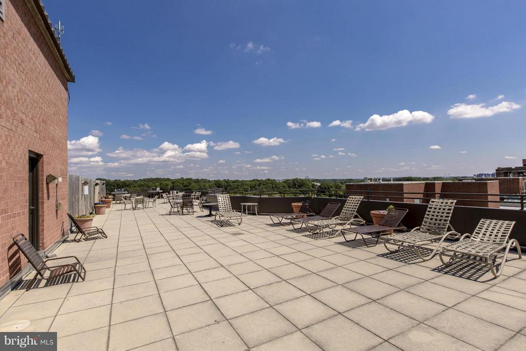 ROOFTOP SUNDECK - PERFECT FOR SUNBATHING! - 1001 VERMONT ST N #508, ARLINGTON