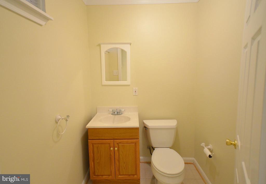 Basement Bathroom - 528 BRECKINRIDGE SQ SE, LEESBURG