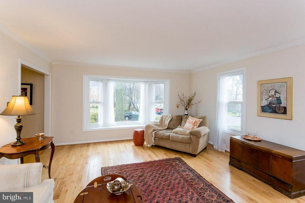 Living Room - 2527 HEATHCLIFF LN, RESTON