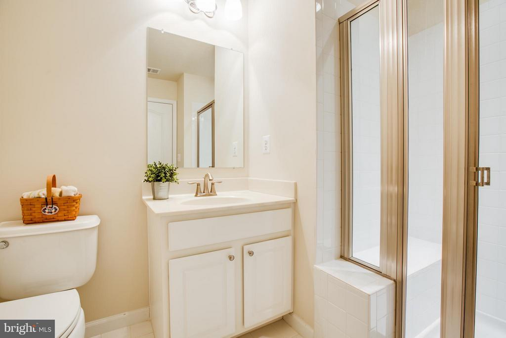 Designed for comfort! Hall bath with seated shower - 51 JANNEY LN, FREDERICKSBURG
