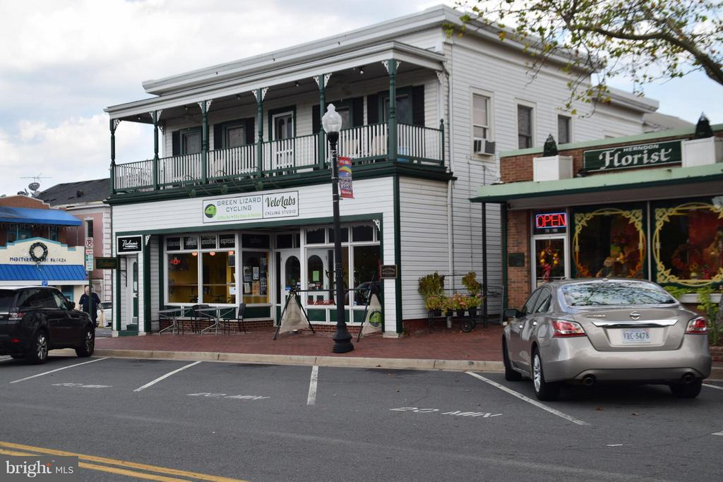 Green LIzard Bike Shop -historic Nachman building - 800 BRANCH DR, HERNDON