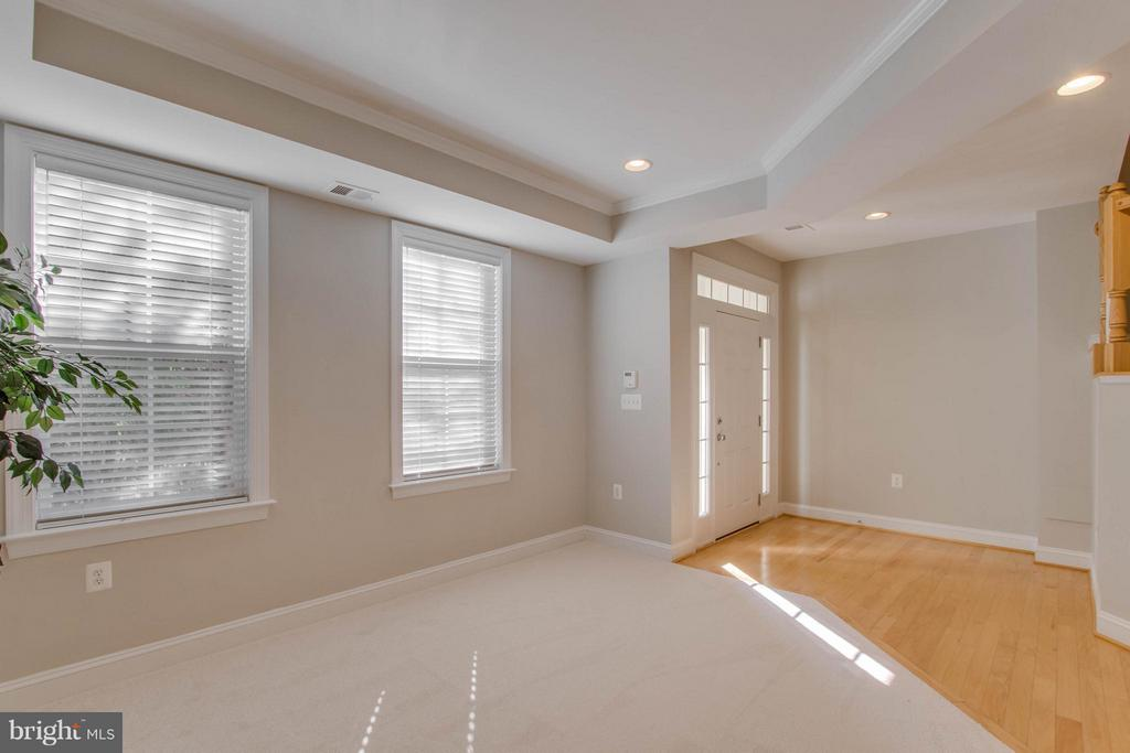 LIght and bright entrance foyer and lower level - 800 BRANCH DR, HERNDON