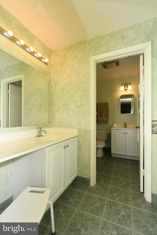 Master Bath area with separate dressing basin - 12506 CHARLES STEWART CT, FAIRFAX