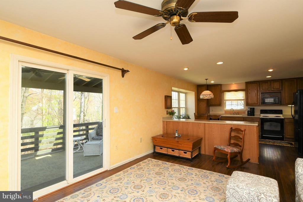 Easy access to Roomy Screened Porch - 12506 CHARLES STEWART CT, FAIRFAX