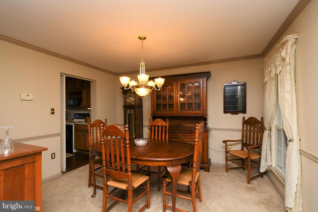 Welcoming Dining Room - 12506 CHARLES STEWART CT, FAIRFAX