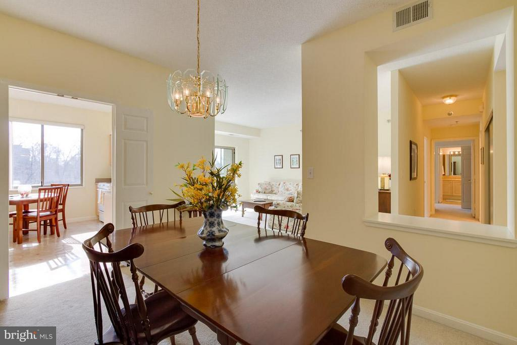 Dining Room - 2900 LEISURE WORLD BLVD #402, SILVER SPRING