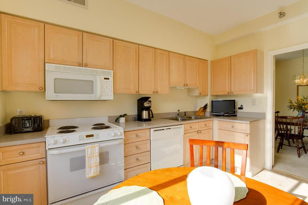 Kitchen - 2900 LEISURE WORLD BLVD #402, SILVER SPRING
