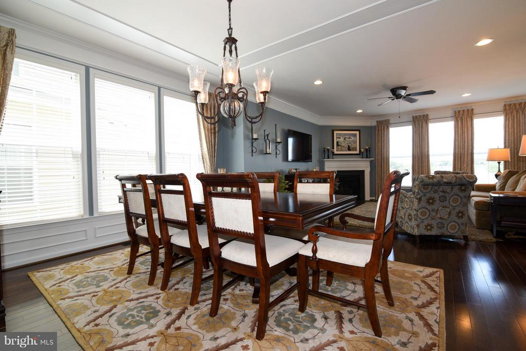 Dining Room off living room - 21275 FAIRHUNT DR, ASHBURN