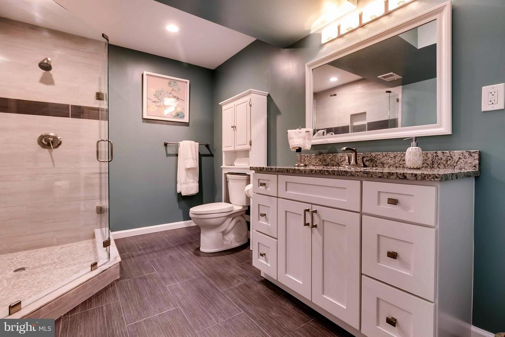 Large Full Bathroom in Basement - 42402 MADTURKEY RUN PL, CHANTILLY