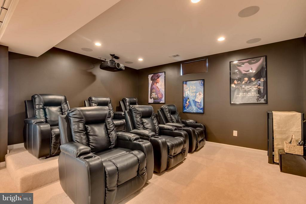 Awesome Theatre Room - 42402 MADTURKEY RUN PL, CHANTILLY