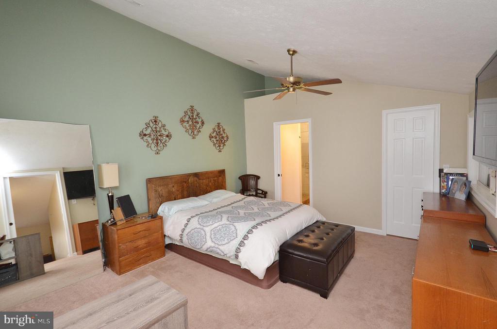 Master Bedroom with Luxury Bath and Walkin Closet - 10168 OAKTON TERRACE RD #10168, OAKTON