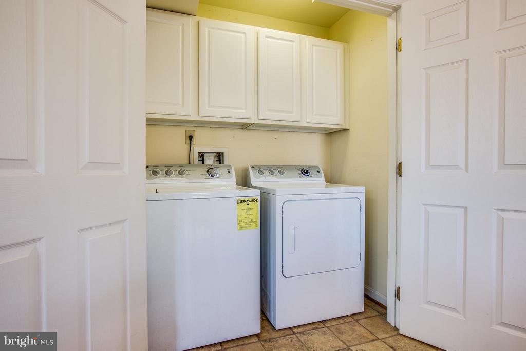 Laundry - Kitchen Level - 7415 STERLING DR, FREDERICKSBURG
