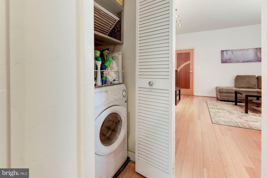 Combo Washer/Dryer - 116 NORTH CAROLINA AVE SE #204, WASHINGTON