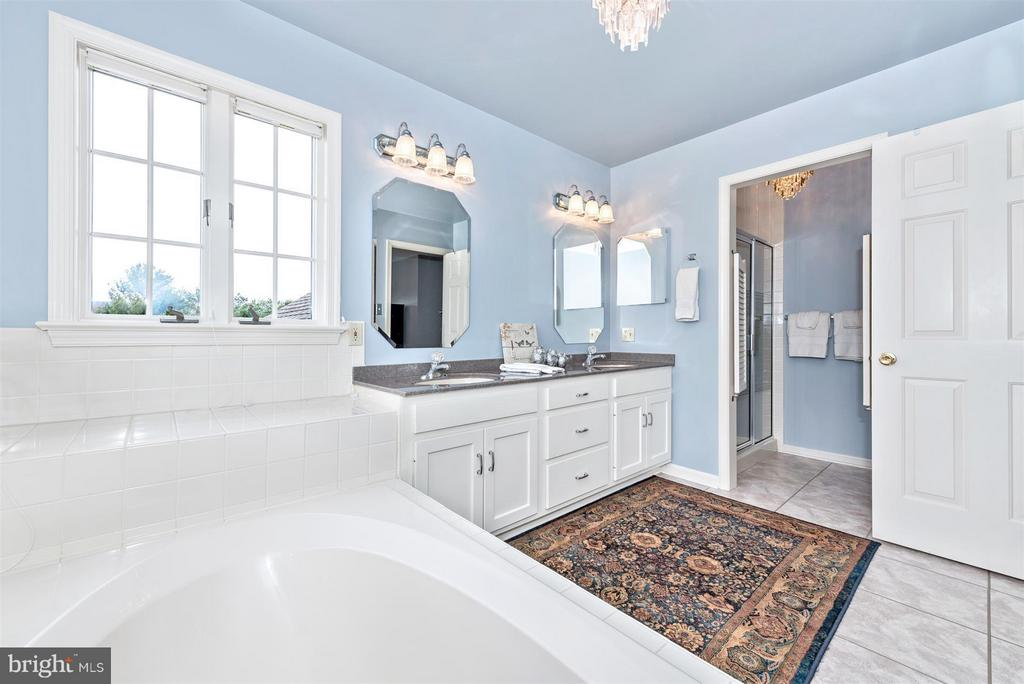 upper level master bath - 7902 W BROOKRIDGE DR, MIDDLETOWN