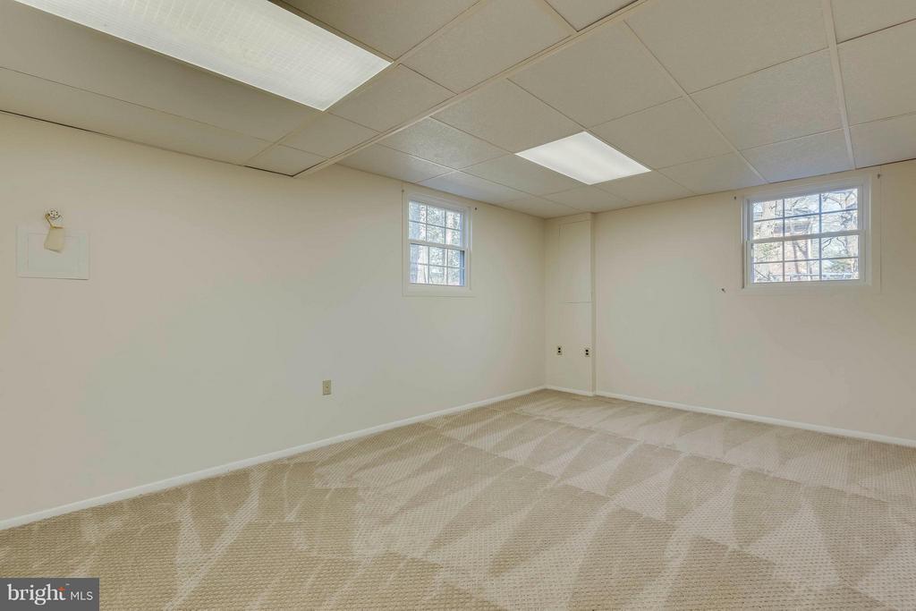Bedroom #5 (Basement) - 9130 CHERRYTREE DR, ALEXANDRIA