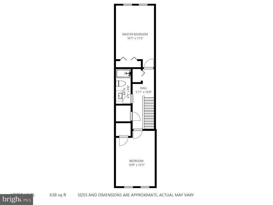 2nd Floor - 11161/2 PRINCESS ST, ALEXANDRIA