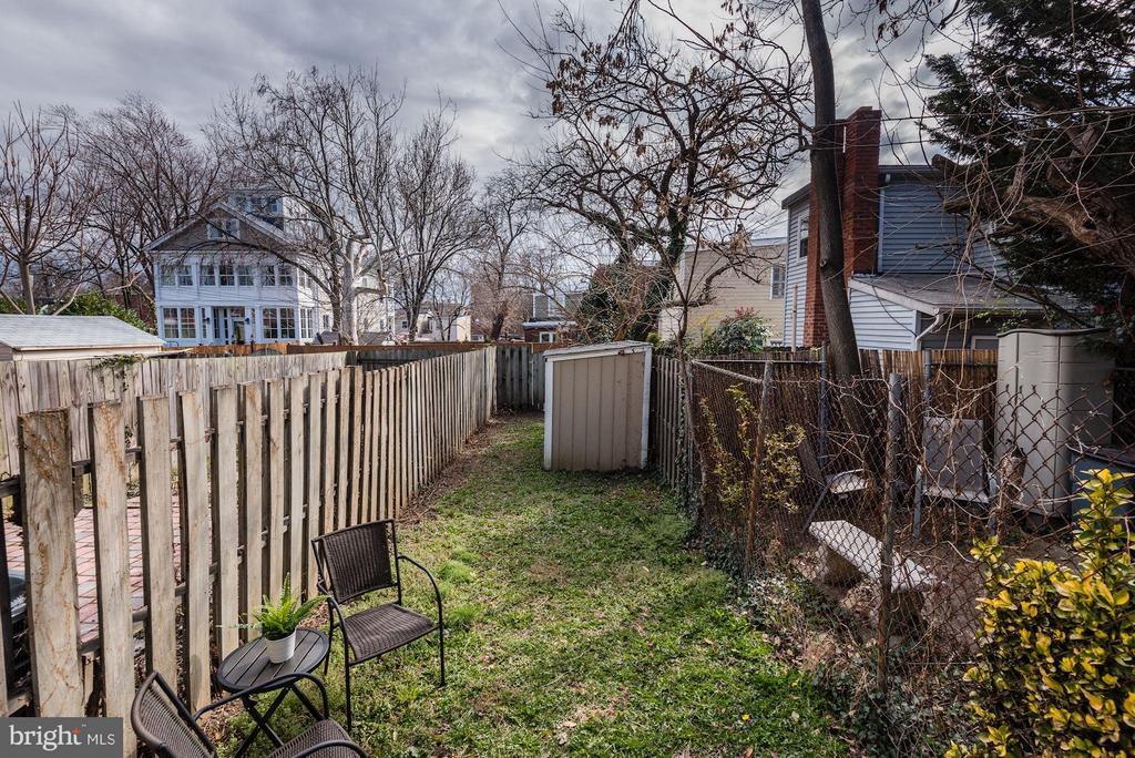 Backyard - 11161/2 PRINCESS ST, ALEXANDRIA