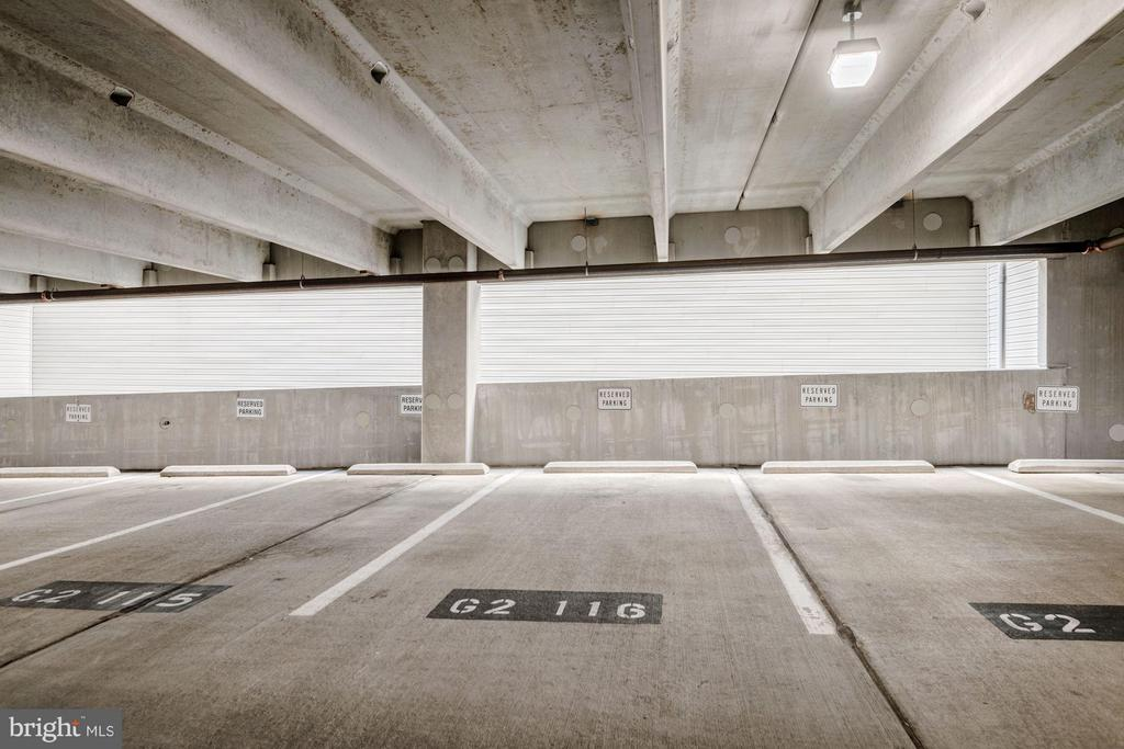 Two parking spots convey - 2765 CENTERBORO DR #159, VIENNA