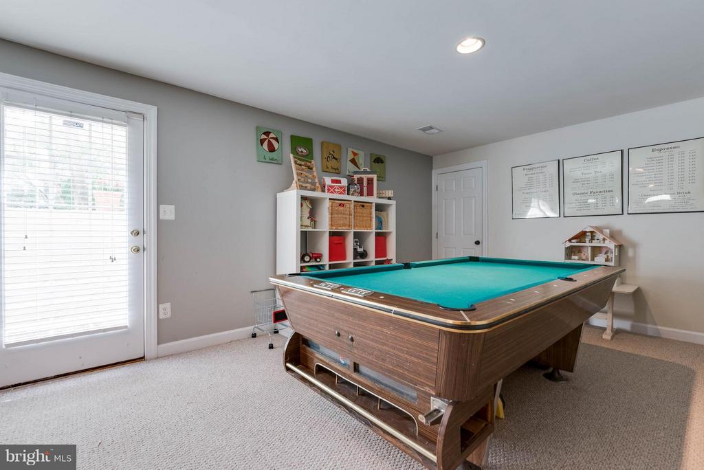 Basement - 43345 ROYAL BURKEDALE ST, CHANTILLY