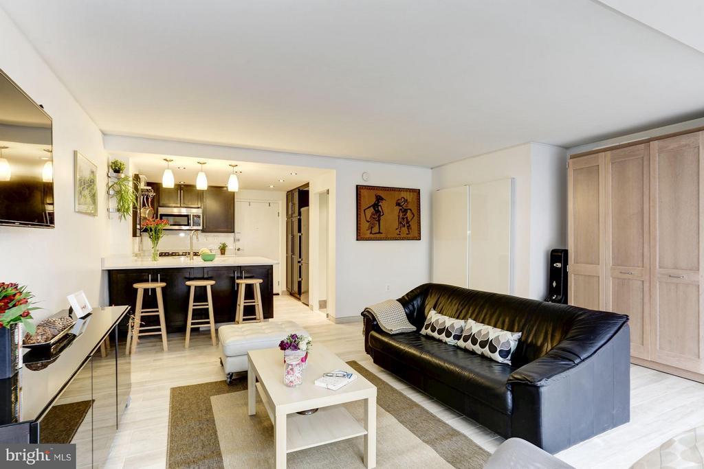 Living Room - 922 24TH ST NW #118, WASHINGTON