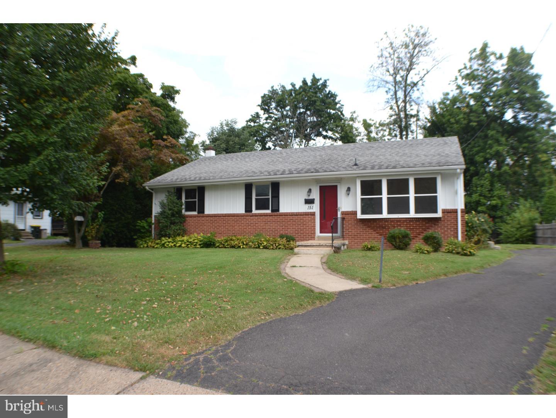 Single Family Home for Rent at 151 E RICHARDSON Avenue Langhorne, Pennsylvania 19047 United States