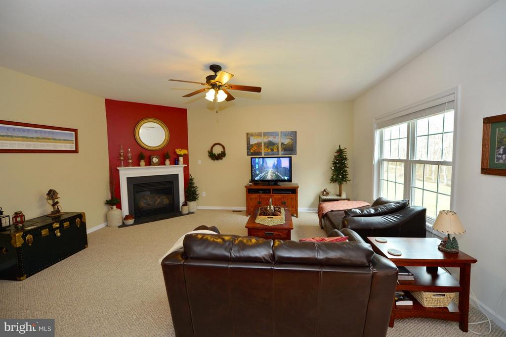 Family Room with Gas Fireplace - 670 LOWER CLUB HOUSE, HARPERS FERRY