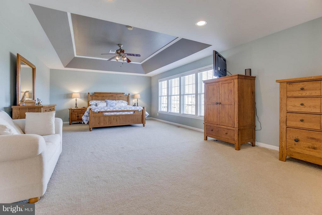 Spacious Master Bedroom - 43812 CHURCHILL GLEN DR, CHANTILLY