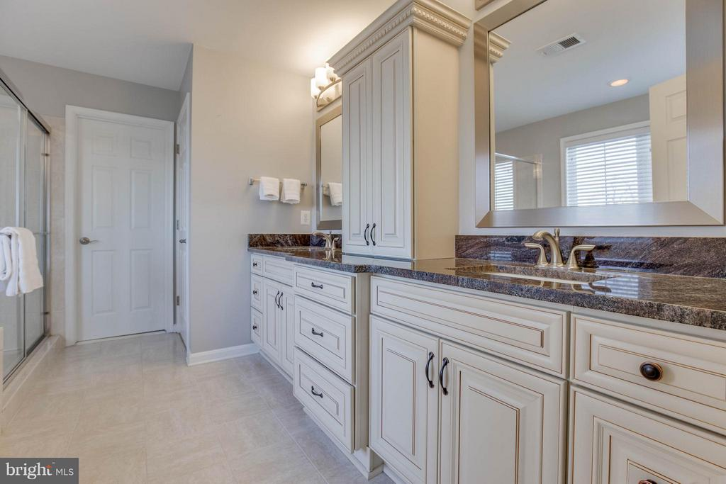 Remodeled Master Bathroom - 43812 CHURCHILL GLEN DR, CHANTILLY