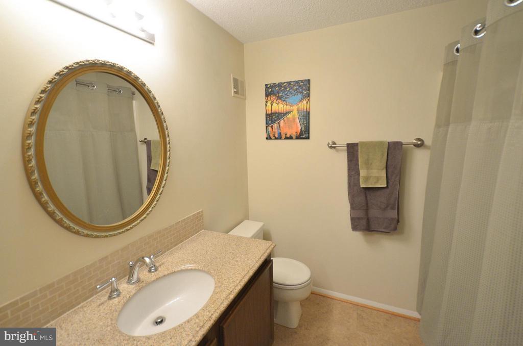 Hall Bathroom - 5326 LAROCHELLE CT, ALEXANDRIA