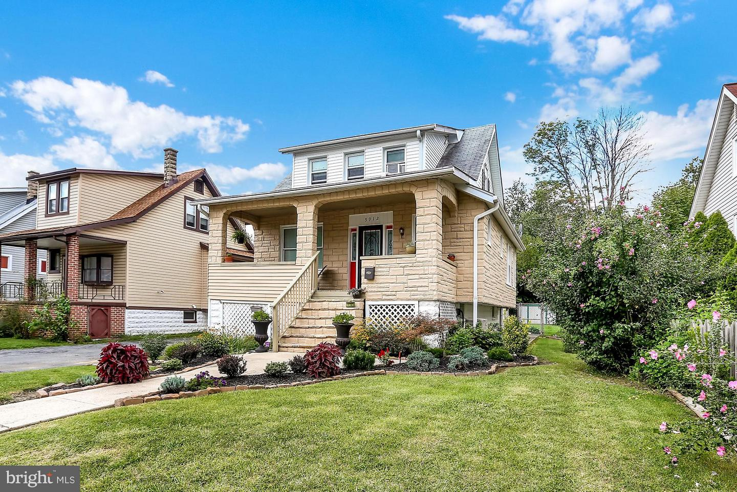 Photo of home for sale at 5912 Burgess Avenue, Baltimore MD