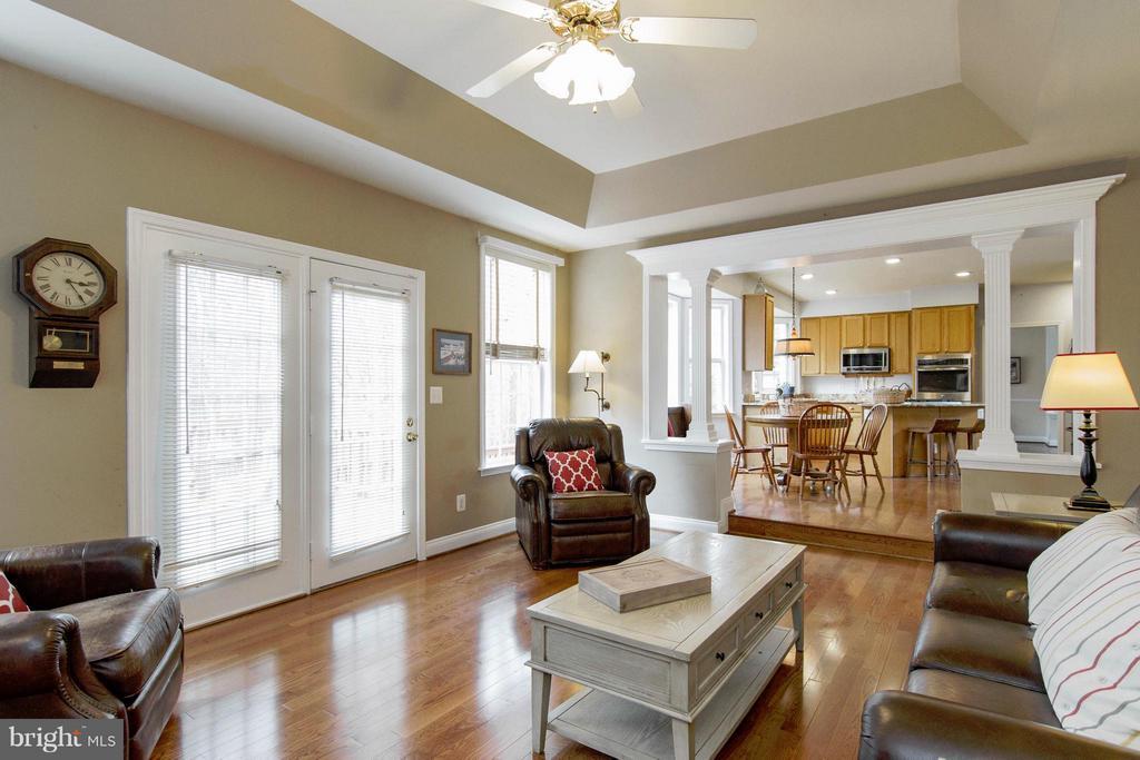 Family Room - 13380 GANDALL CT, MANASSAS