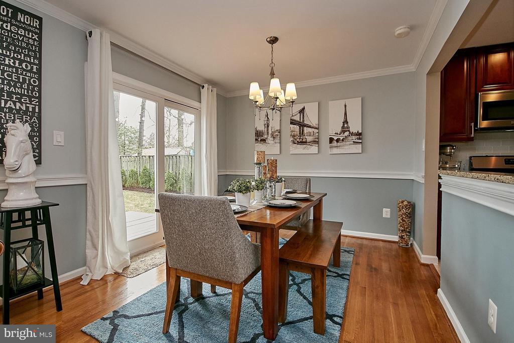 Dining Room - 3205 TRAVELER ST, FAIRFAX