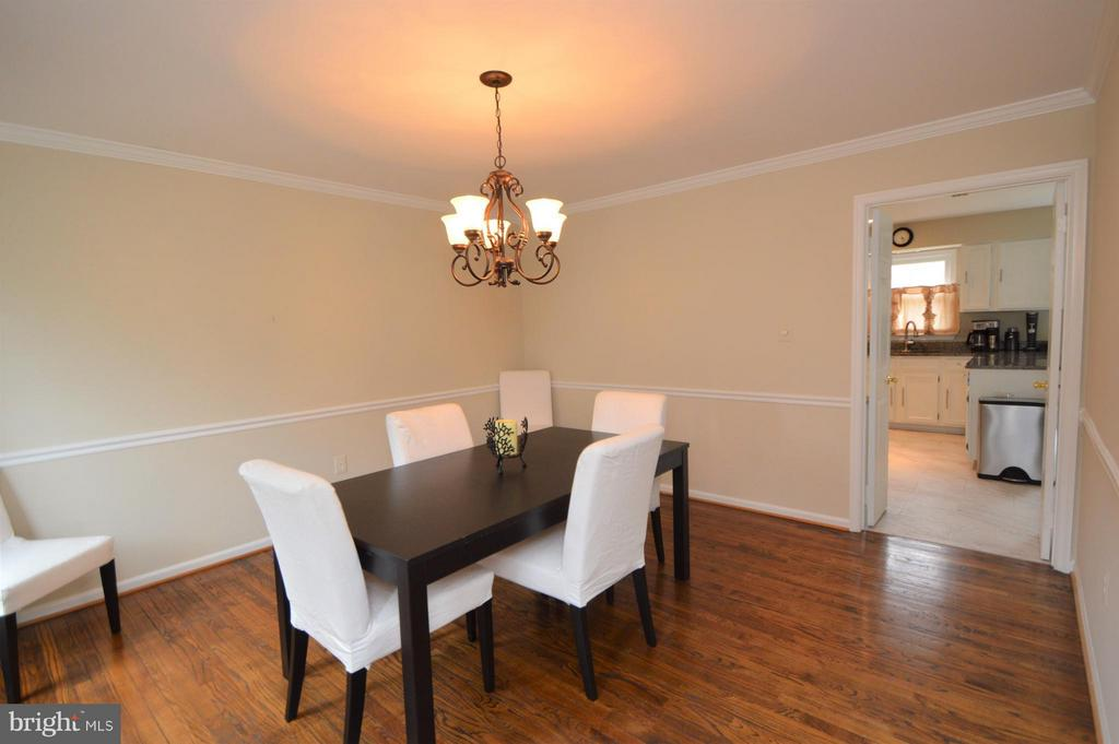 Dining Room - 5837 COLFAX AVE, ALEXANDRIA