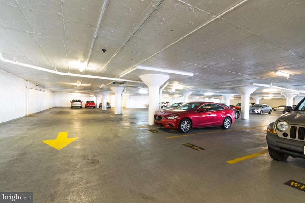 Garage Parking Included with the Coop - 1111 ARLINGTON BLVD #541, ARLINGTON