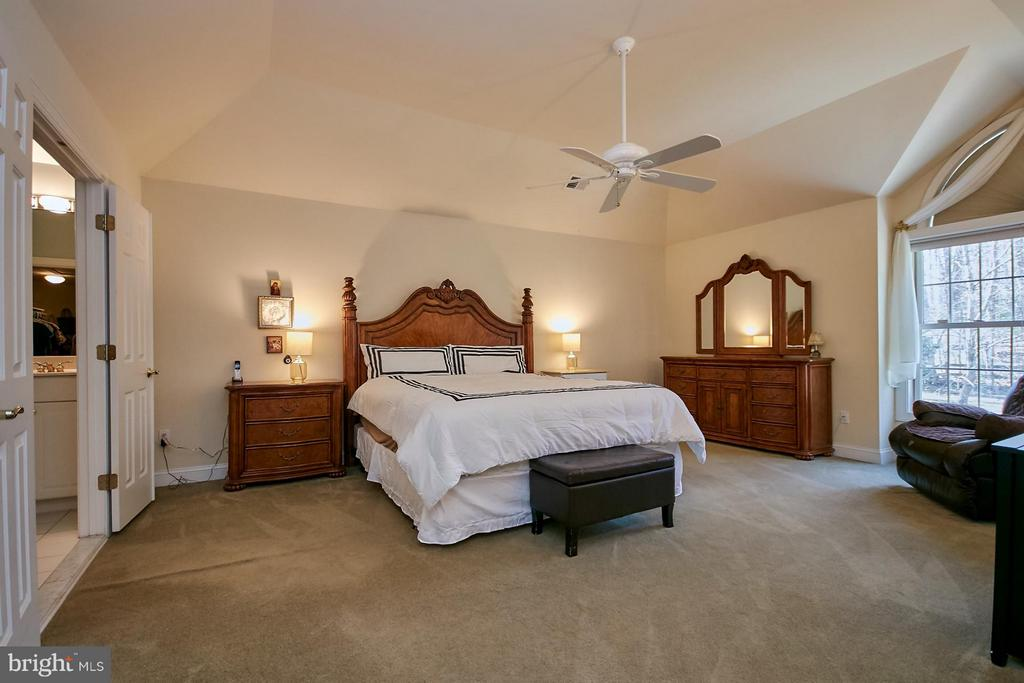 Double Door Entry to Large Master Bedroom - 9322 OLD BURKE LAKE RD, BURKE
