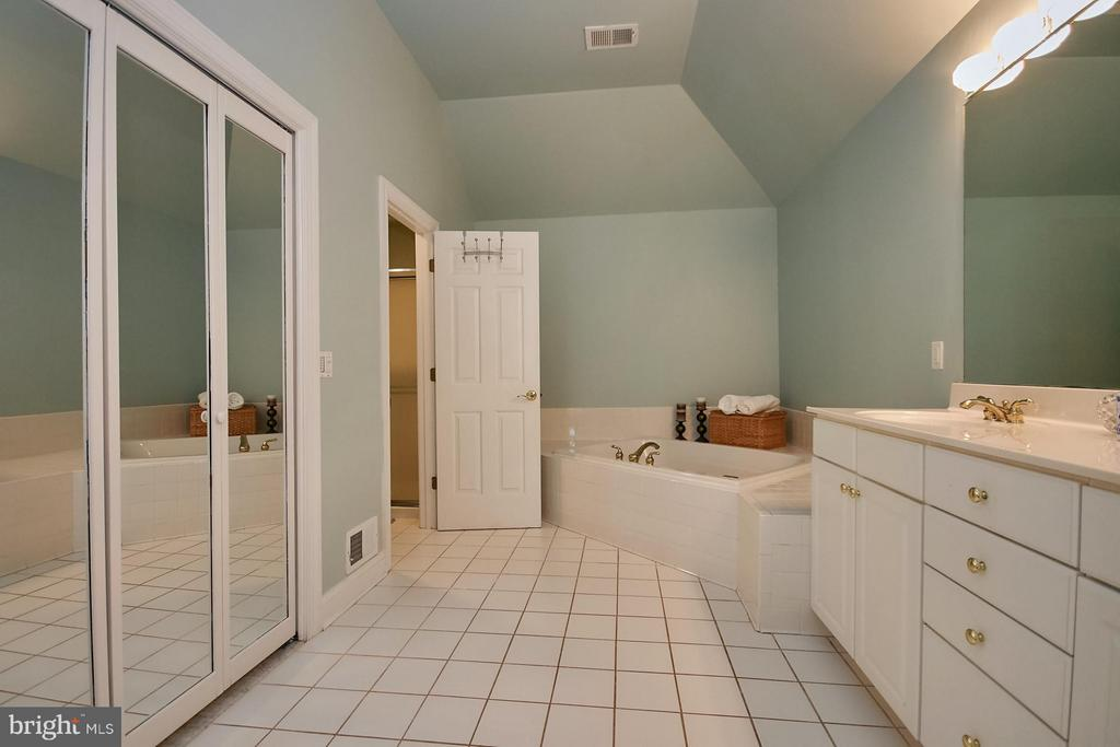 Two Sinks, Soaking Tub, Shower and Walk-in-Closet - 9322 OLD BURKE LAKE RD, BURKE